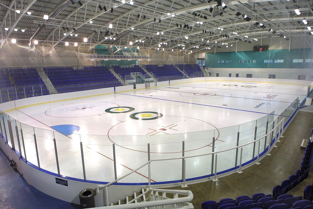 iceSheffield was used by Team GB Winter Olympic athletes in the build up to Sochi 2014 ©Legacy Park Limited