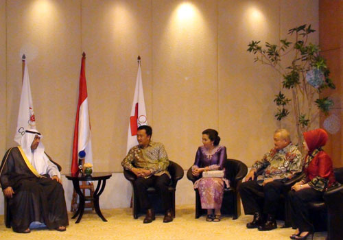 During the dinner the OCA President thanked Indonesia as a strong contributor to the Olympic Movement in Asia ©OCA