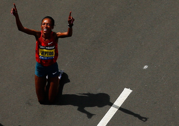 Rita Jeptoo has been handed a two-year ban by Athletics Kenya ©Getty Images