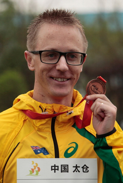 Australia's Jaryd Tallent has called for Russian athletes to be banned following the latest round of doping bans, and claims he was cheated out of Olympic gold ©Getty Images