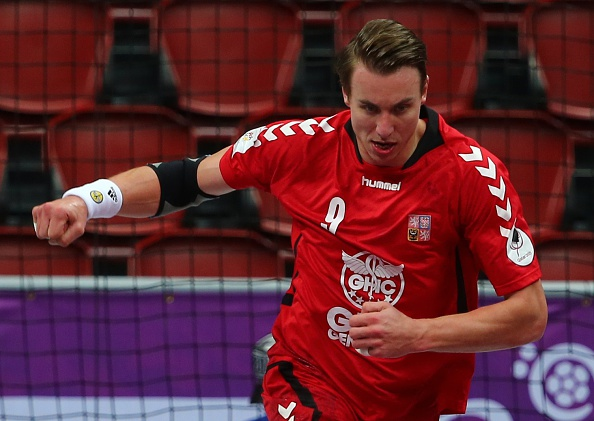 Filip Jicha, the Czech Republic's star man, began unable to play at the World Handball Championships because of a stomach upset but finished up lifting the President's Cup today ©Getty Images