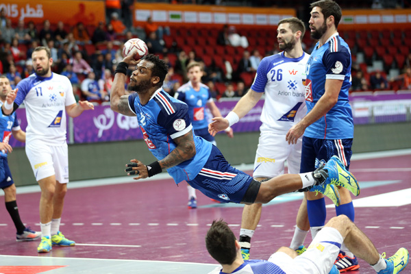 France draw 26-26 with Iceland on day six ©Qatar2015