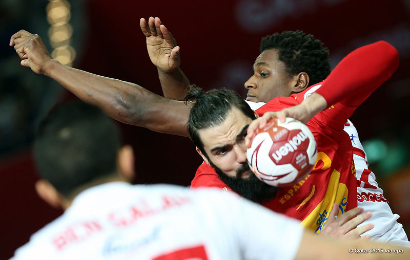 Spain, defending champions, did not let Tunisia get in their way as they reached the last eight at the World Handball Championship in Qatar with a 28-20 win ©Qatar2015