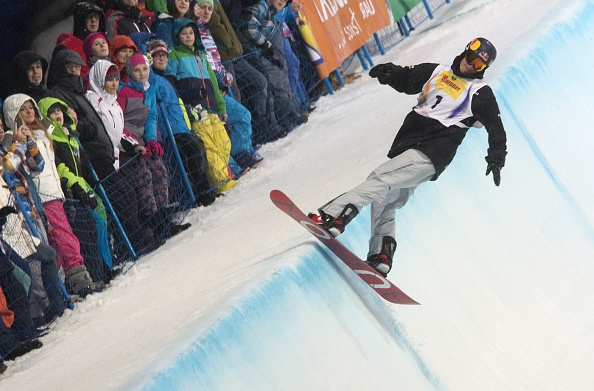 Scotty James of Australia took the men's halfpipe title ©AFP/Getty Images