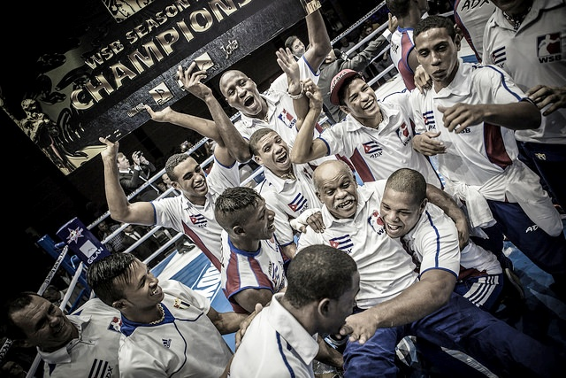 The Cuba Domadores will be hoping to successfully defend their title at Season V of the World Series of Boxing ©WSB