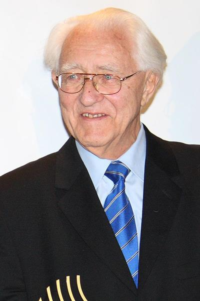 Gustav Schwenk, the veteran journalist who has died aged 91 ©IAAF