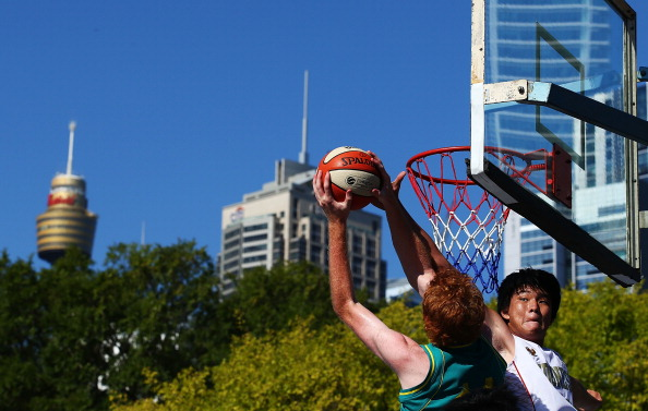 3x3 basketball featured at the 2014 Summer Youth Olympic Games ©Getty Images