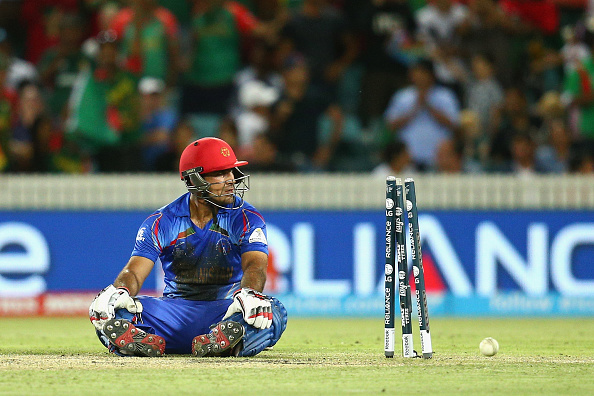 Afghanistan's long-awaited World Cup debut ended in a 105-run defeat to Bangladesh in Canberra ©Getty Images