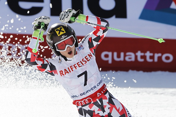 Anna Fenninger has won her second gold medal of this year's World Championships ©Getty Images