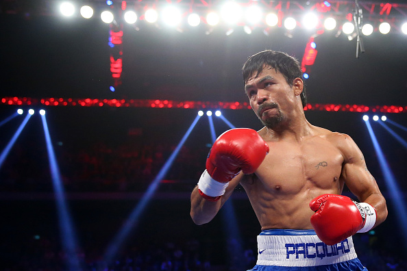 Both Pacquiao and Mayweather are set to earn huge sums of money from a fight that many feel should have happened many years ago ©Getty Images