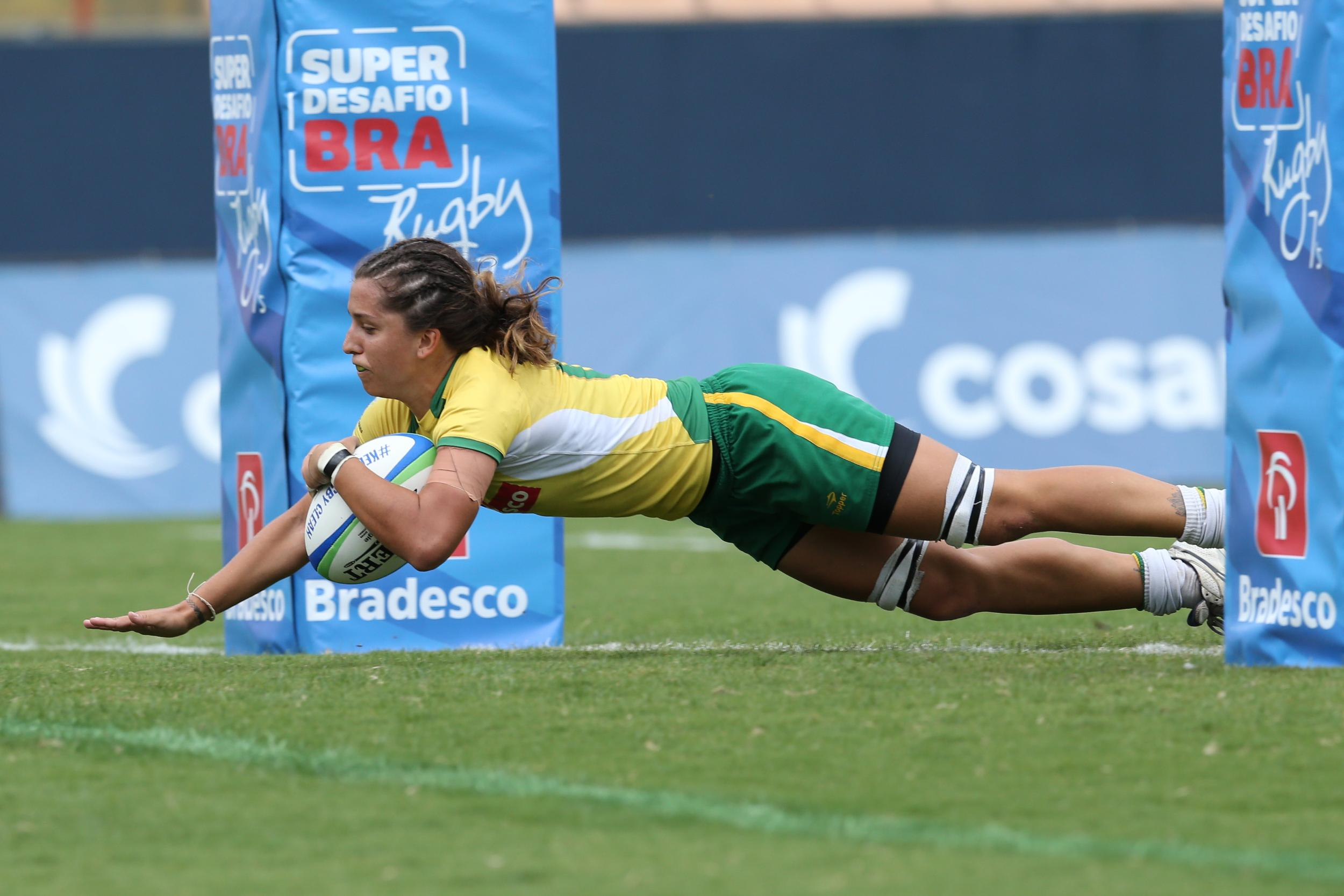 Brazil earned two victories from their pool matches to progress ©World Rugby