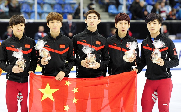 China added relay gold in Turkey to the bronze medal they achieved in Dresden last week ©Getty Images