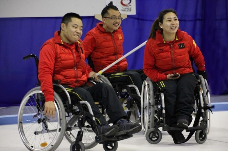 China have made it to the World Wheelchair Curling Championship gold medal game for the first time ©WCF/Alina Pavlyuchik