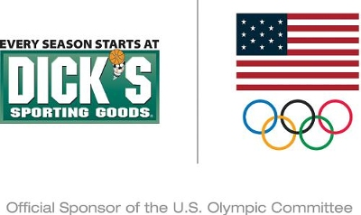 USOC have announced DICK'S Sporting Goods as their new official sponsor ©DICK'S/USOC