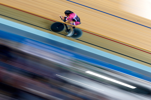 Dame Sarah Storey was attempting to break the record of Leontien Zijlaard-van Moorsel who has held the record since 2003 ©Getty Images