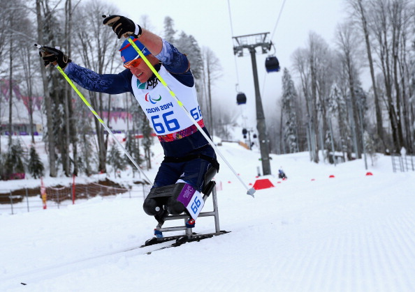 Daniel Cnossen claimed the men's sitting gold in Japan ©Getty Images