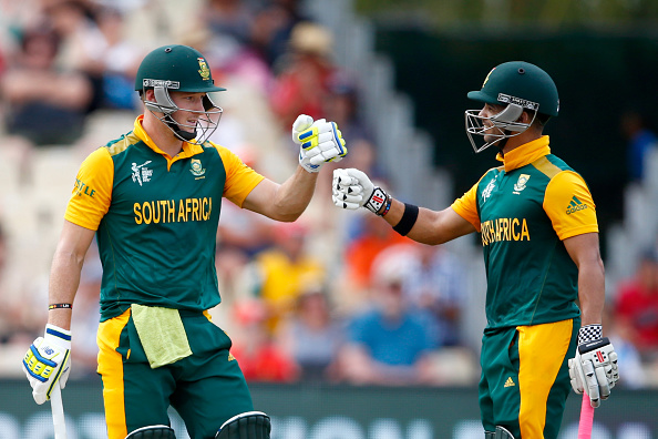 David Miller and JP Duminy put on 256 for the fifth wicket as South Africa beat Zimbabwe in Hamilton ©Getty Images