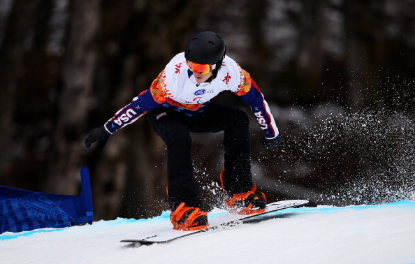 Evan Strong fans will be able to watch the Paralympic champion in action as the Para-Snowboard World Championships are set to be streamed live online from La Molina ©Getty Images