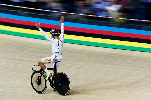 Colombia's Fernando Gaviria maintained his overnight lead to win the men's omnium  ©Getty Images