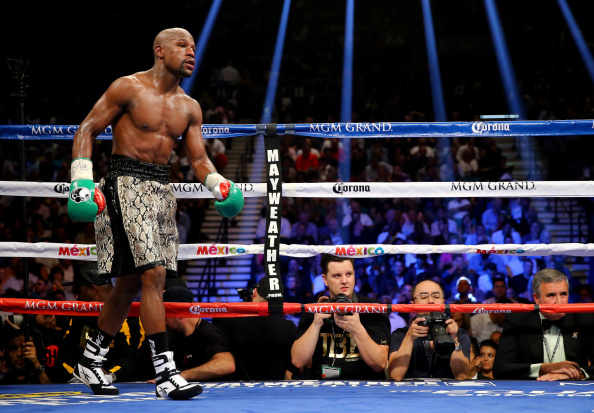 Floyd Mayweather Jnr should finally take on Manny Pacquiao in Las Vegas on May 2  ©Getty Images