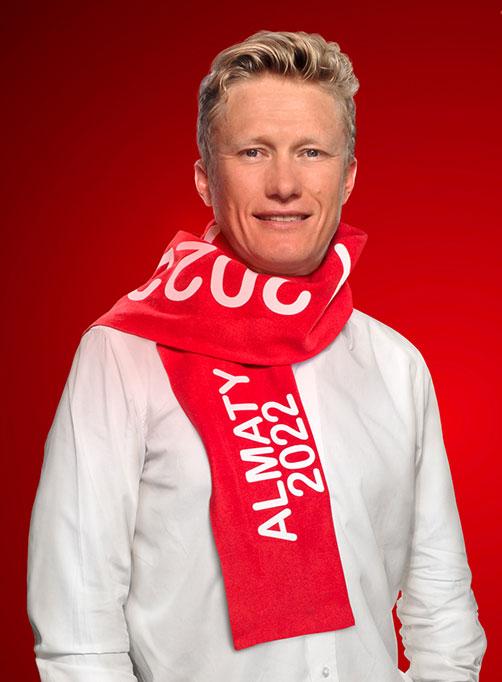 Former doping cheat Alexander Vinokourov is listed as an Almaty 2022 Bid Ambassador ©Almaty 2022