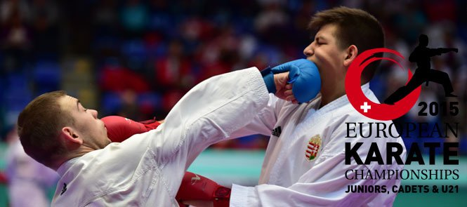 France enjoyed a successful day at the European Junior Cadet and Under-21 Karate Championships ©WKF