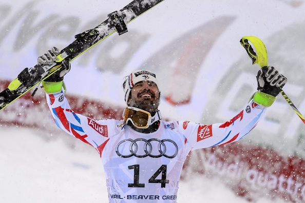 Frances Jean-Baptiste Grange earned a shock win as he took gold in a star studded field in the mens slalom ©Getty Images