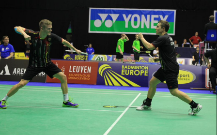 Germany's victory in the men's doubles kept their title defence alive and sparked a miraculous comeback against France ©Twitter
