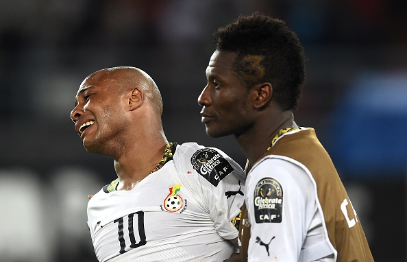 Ghana's players were inconsolable after the match as their 33-year wait for Africa Cup of Nations glory goes on following their defeat against the Ivory Coast ©Getty Images