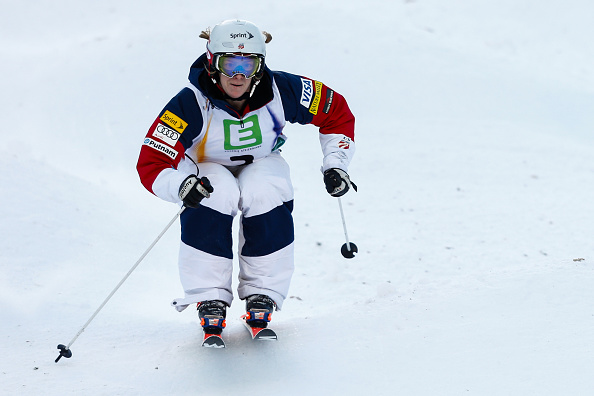 Hannah Kearney closed in on the all time women's World Cup wins record ©Agence Zoom/Getty Images