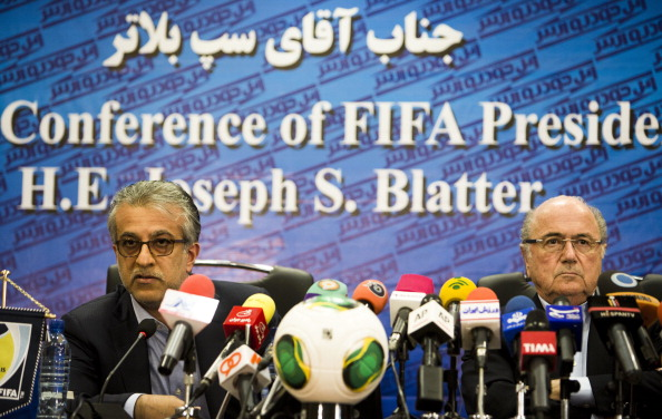 """Head of FIFA's task force Sheikh Salman bin Ebrahim Al-Khalifa (left) feels a November and December World Cup was the """"best solution"""" ©Getty Images"""