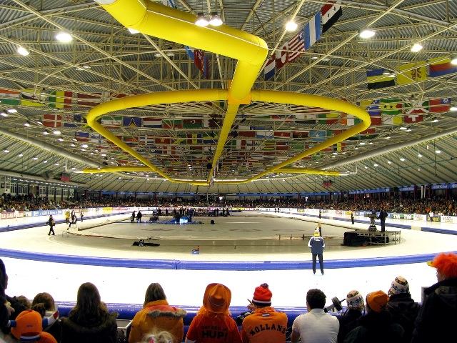The 2015 International Skating Union ISU World Single Distances Speed Skating Championships will take place in Heerenveen from February 12 to 15 ©Wikipedia