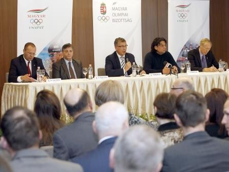 Hungarian officials decided to launch a feasibility study into the potential Olympic bid ©HOC