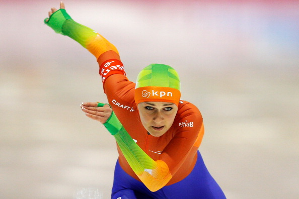 The Netherlands Irene Schouten kept her pursuit of the women's mass start overall title alive with gold at the event in Hamar ©Getty Images