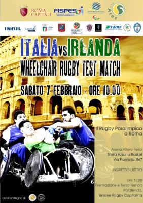 Italy and Ireland will face each other in a wheelchair rugby match in Rome before the two countries clash in the Six Nations ©IWRF