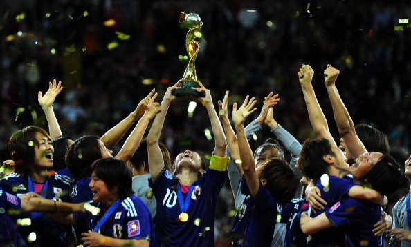 Japan will look to retain the World Cup title they won in Germany in 2011 ©AFP/Getty Images