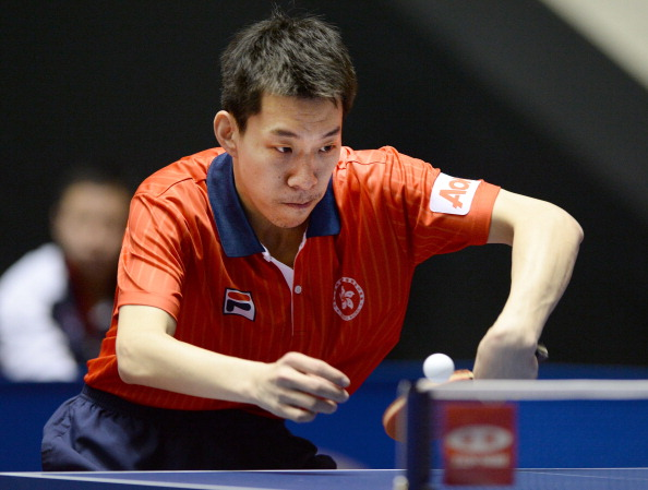 Jiang Tianyi claimed his second career ITTF World Tour title with victory over Jeong Sangeun in an epic final in Budapest ©Getty Images