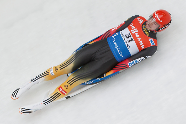 Johannes Ludwig won silver as part of a German clean sweep ©Getty Images