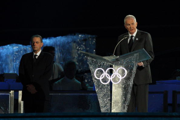 John Furlong (right) was the President and chief executive of Vancouver 2010 ©Getty Images