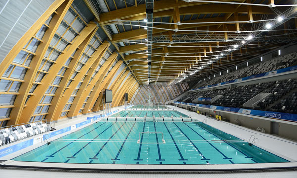 This year's World Aquatics Championships will take place in the Kazan Aquatics Palace, built for the 2013 Summer Universiade ©FINA
