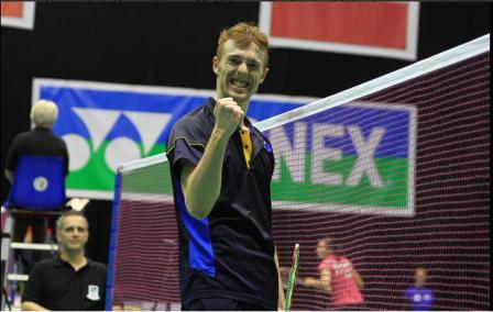 Kieran Merrilees helped set Scotland on their way to victory ©Twitter