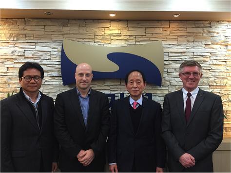 The British delegation paid a visit to Kukkiwon ©British Taekwondo