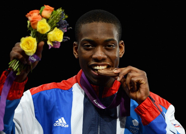 Lutalo Muhammad was selected for London 2012 instead of Cook and won bronze ©Getty Images