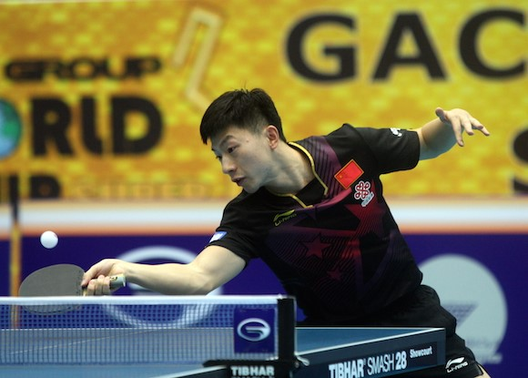 Ma Long claimed his 18th International Table Tennis Federation World Tour title at the Kuwait Open ©ITTF