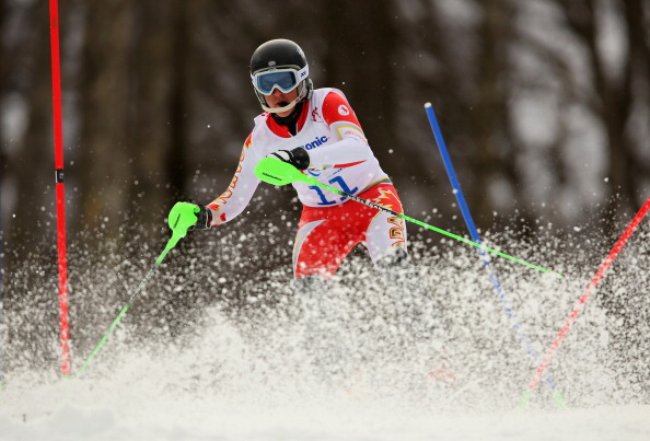 Mac Marcoux has now secured slalom and giant slalom victories in St. Moritz ©Getty Images