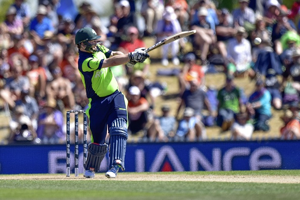 Man of the match Paul Stirling helped guide Ireland to a surprise win as they chased down 305 in their World Cup opener ©Getty Images