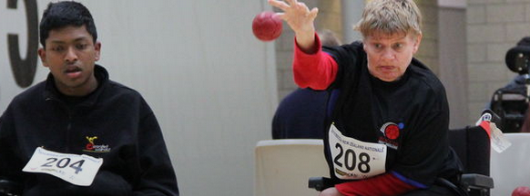 Many more national boccia events are now taking place throughout New Zealand ©Facebook
