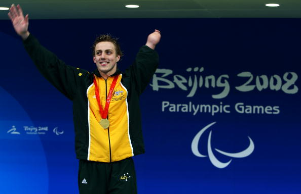 Matthew Cowdrey's eight-medal haul at Beijing 2008 earned him the title of best male athlete at the 2009 IPC Paralympic Sport Awards ©Getty Images