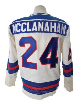 McClanahan's jersey has a current price of $12,974 ©Classic Auctions