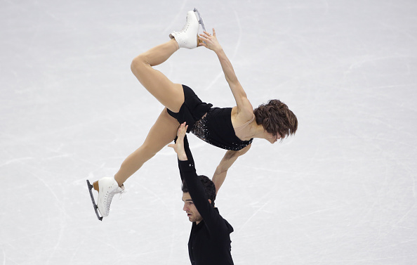 Meagan Duhamel and Eric Radford took pairs gold for Canada ©Getty Images
